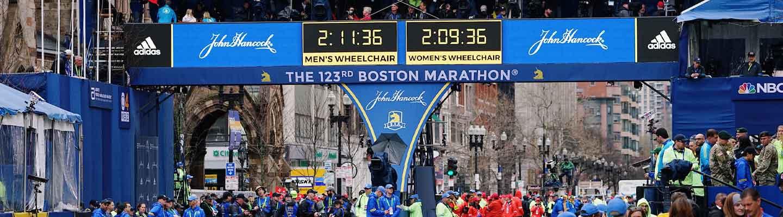 Boston set for Patriots' Day return