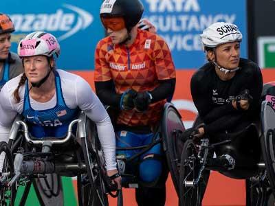 Wheelchair stars ready for wild ride