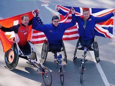 Wheelchair stars set for marathon finale