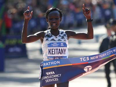 Keitany's career will take some beating