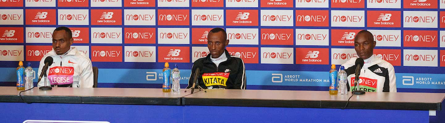 Legese locks on to Kipchoge's record