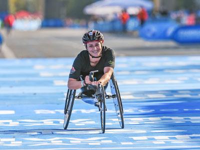 Wheelchair stars continue epic season
