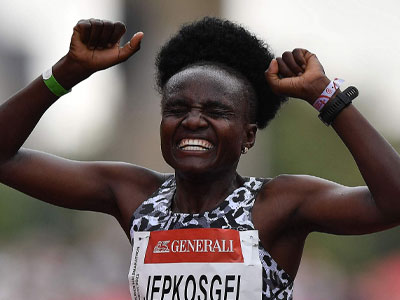 Kenyan duel lined up for London