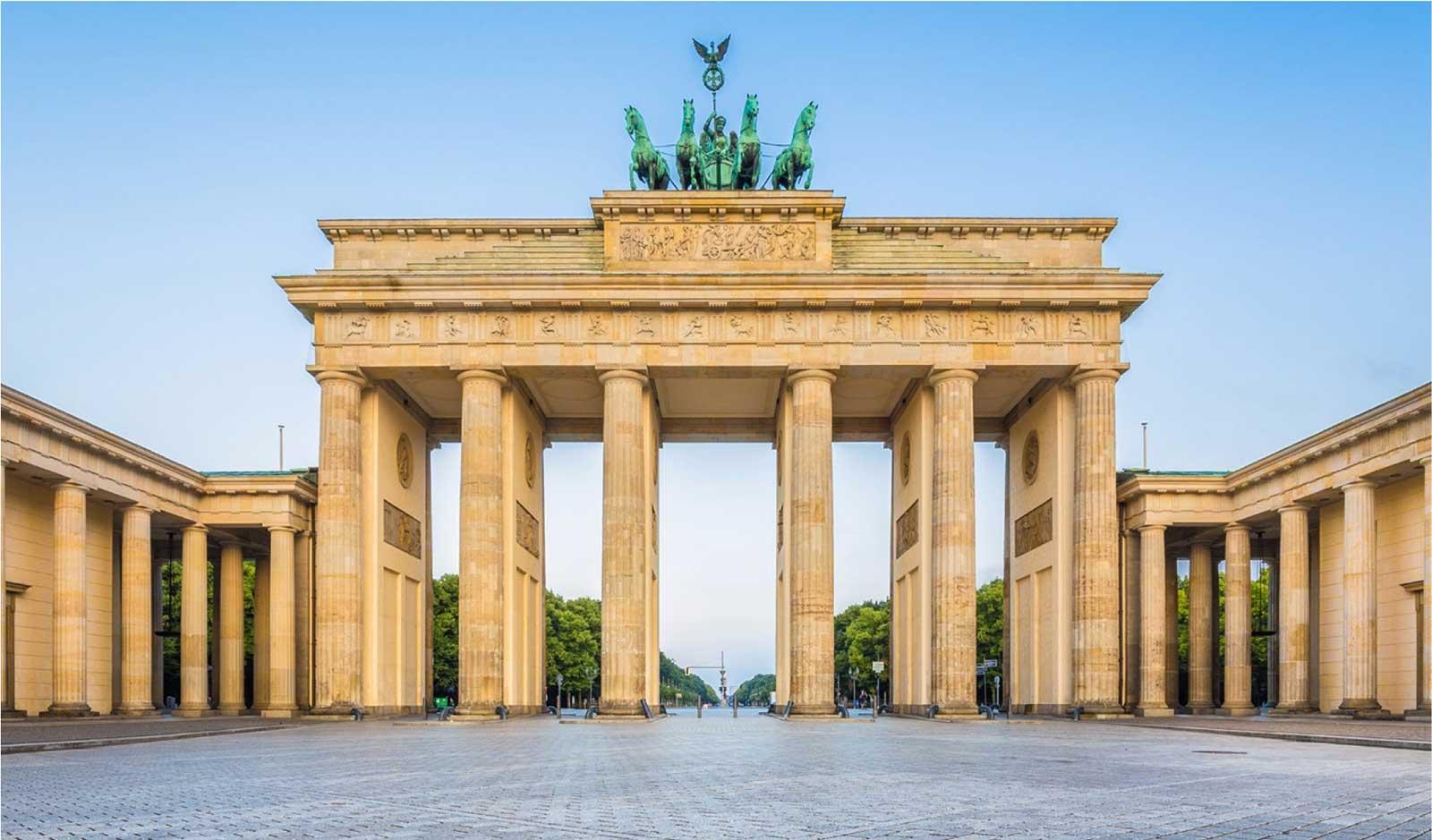 Berlin Marathon city landscape