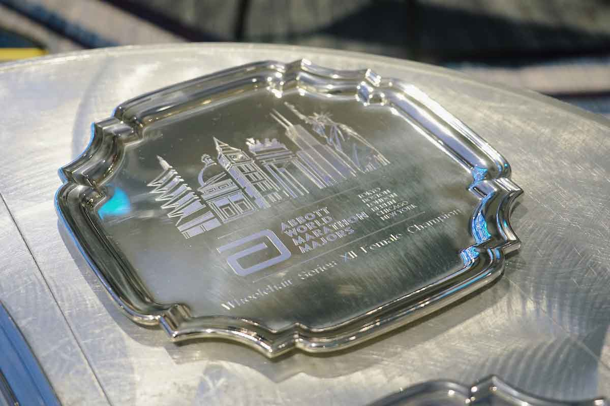 World Championship winners plate
