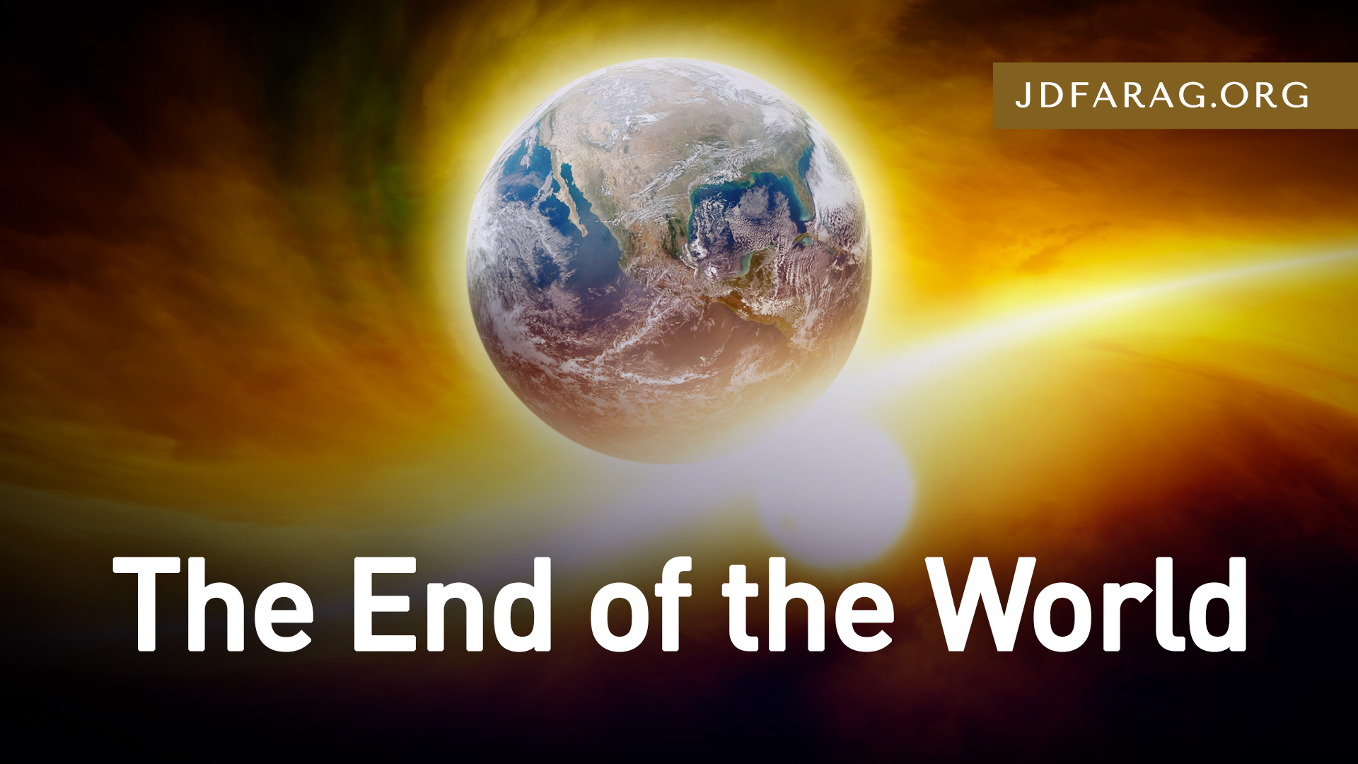 JD Farag Bible Prophecy cover image