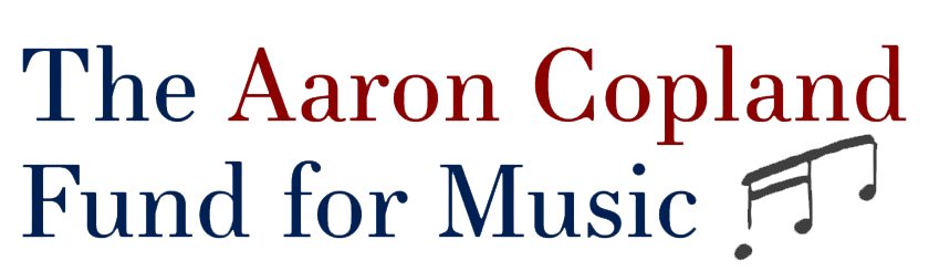 The Aaron Copland Fund for Music Logo