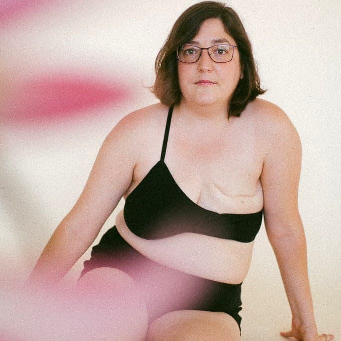 teta y teta single breast-bra