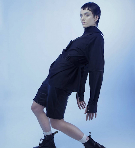 Fashion has no gender once you realise it, there's no going back.