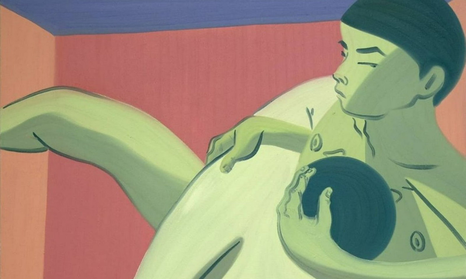 Men Can Be Straight and Still Intimate with Each Other: That is Mark Yang's Message