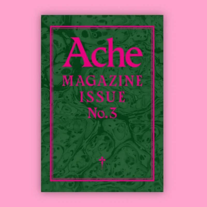 We are Ache, a feminist magazine by self-identifying women exploring illness, health, bodies and pain through fiction, poetry, essays and art.