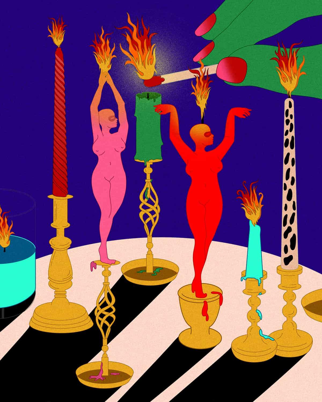Lydia Ortiz Feminist Illustrator Art Director