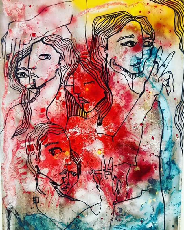 Fitore Alísdóttir Berisha Art Painter Feminism