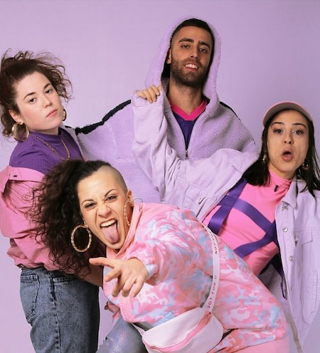 Tribade is a queer, feminist rap group from Barcelona. Bittah, Masiva Lulla and DJ Big Mark (former member of Sombra Alor) make music that combines rap with flamenco, soul, afro trap and reggaeton.
