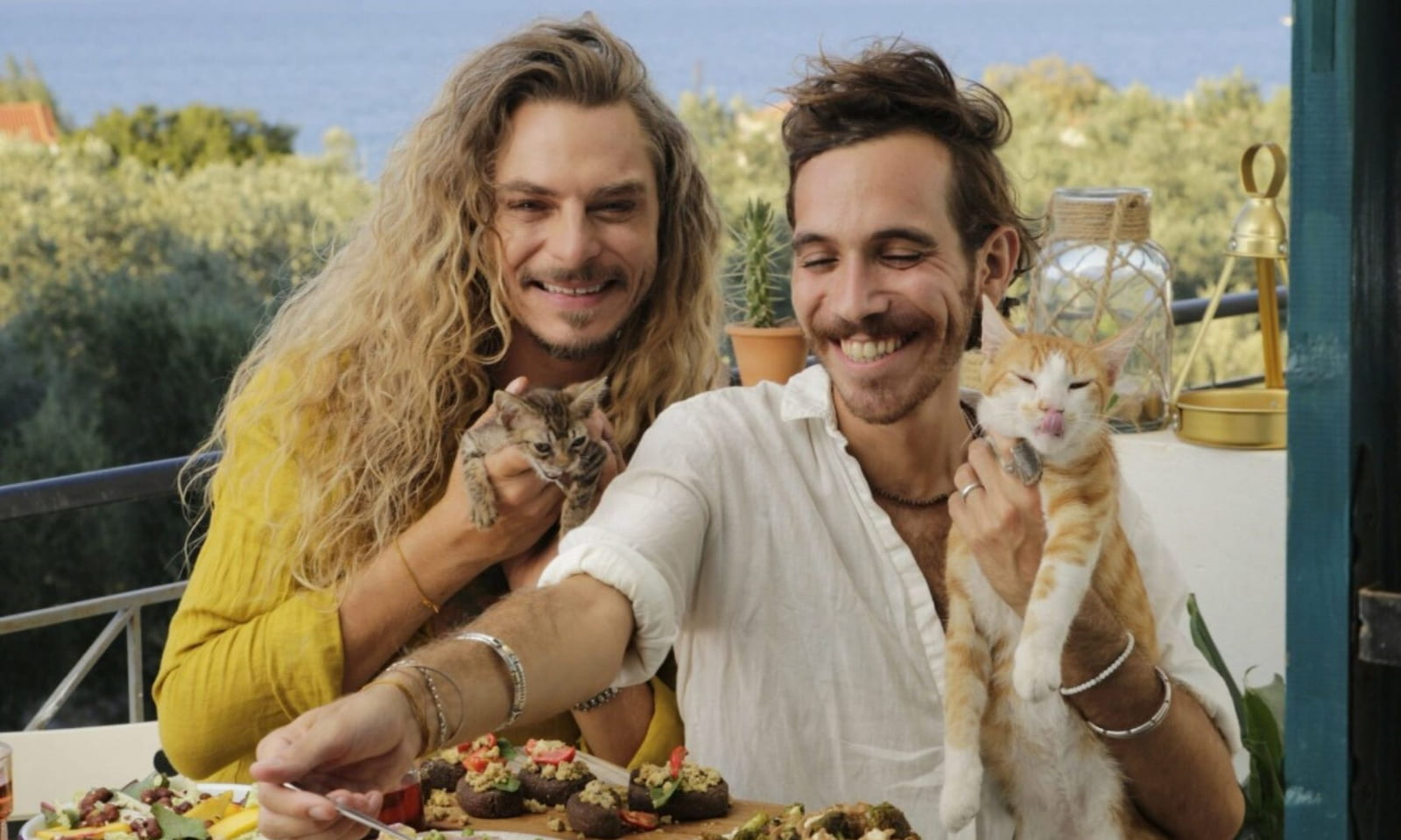 The Ultimate Couple Goal: Kristóf and Nimi's Paradisiac life in Greece