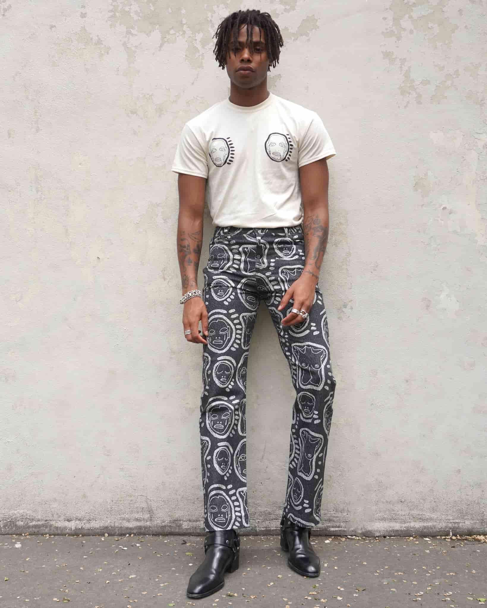 Patrick Church multimedia artist fashion designer painter LGBT LGBTQIA+ community empowered