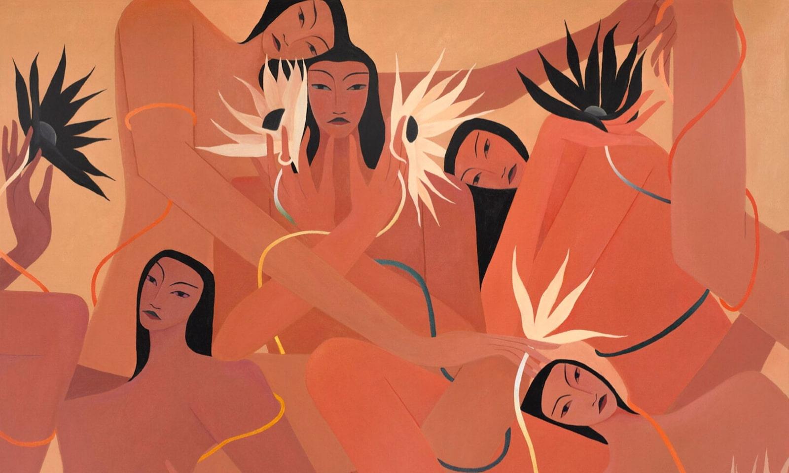Celebrating Women's Bodies: Discover Laura Berger Dreamlike Paintings