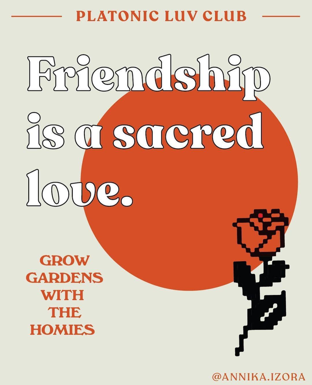 Annika Hansteen-Izora platonic relationships friendship friends best friend aro aromantic ace community date ideas