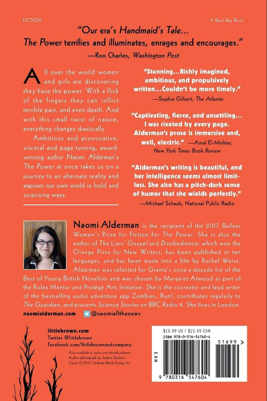 the power naomi alderman feminist book electricity sorority support revolt