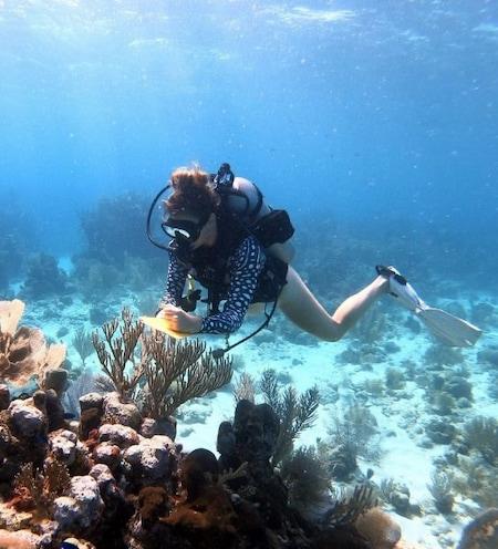 Women in ocean science female scientists marine sciences gender gap scientific careers STEM empowering madeline st clair