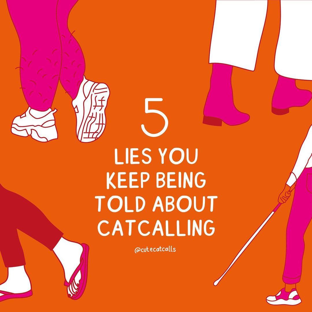 cute catcalls feminist street harassment zoe stromberg personal stories illustrations fight back
