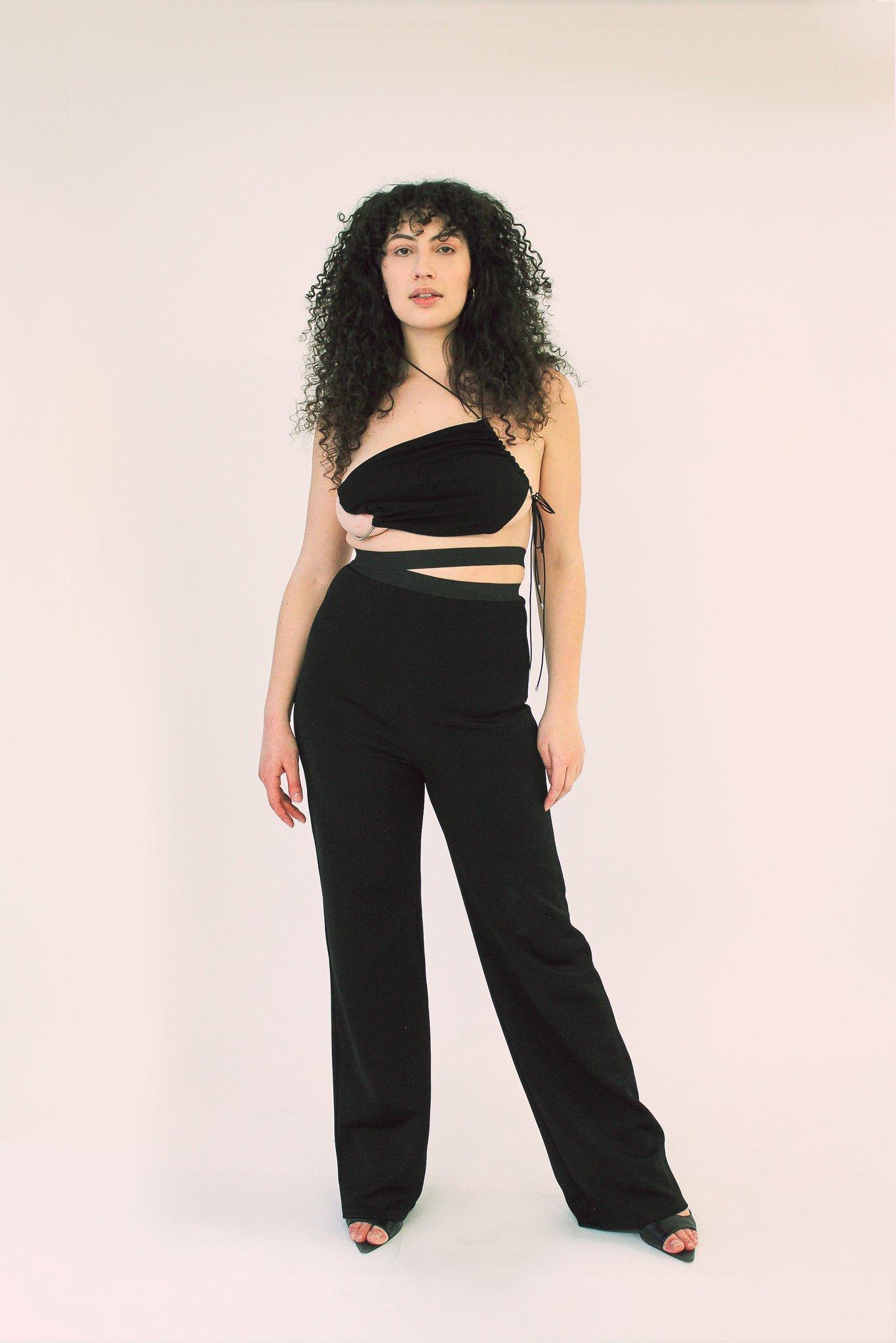 karoline vitto fashion designer brazilian curves folds rolls size inclusive showing off body positivity female body breathe