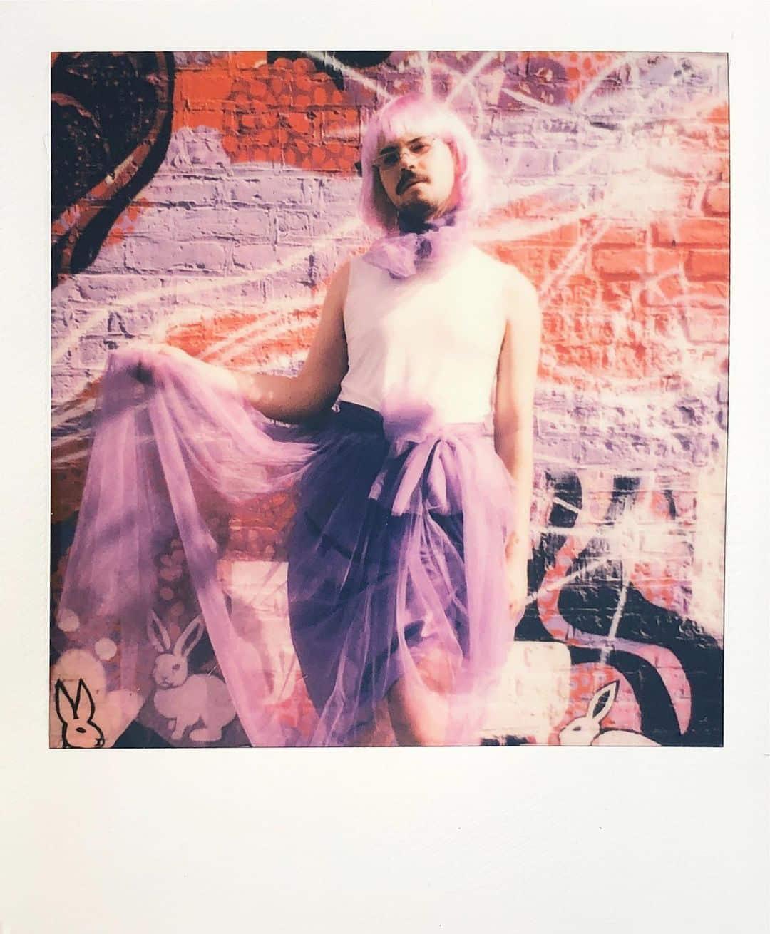 Ryan Rudewicz polaroid skirt