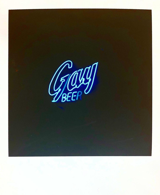 Ryan Rudewicz polaroid neon