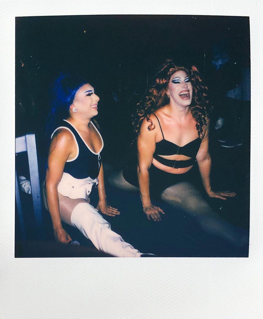 Ryan Rudewicz polaroid drag queens