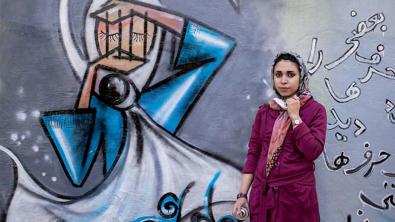 Shamsia Hassani cage