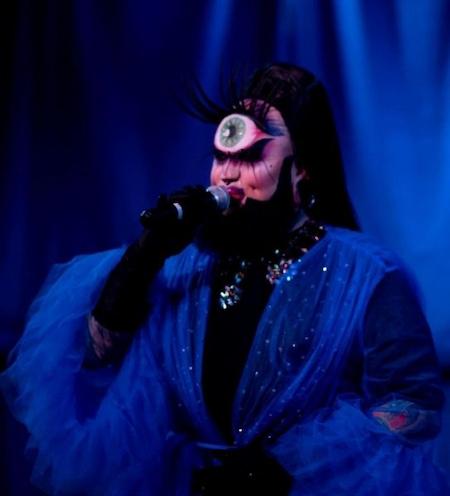 ursula major cyclop drag costume drag performance queer bodypositive salt lake city dragula rupaul drag race