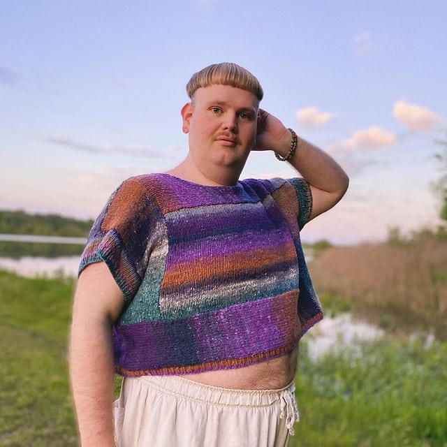 james watts knitting sweater