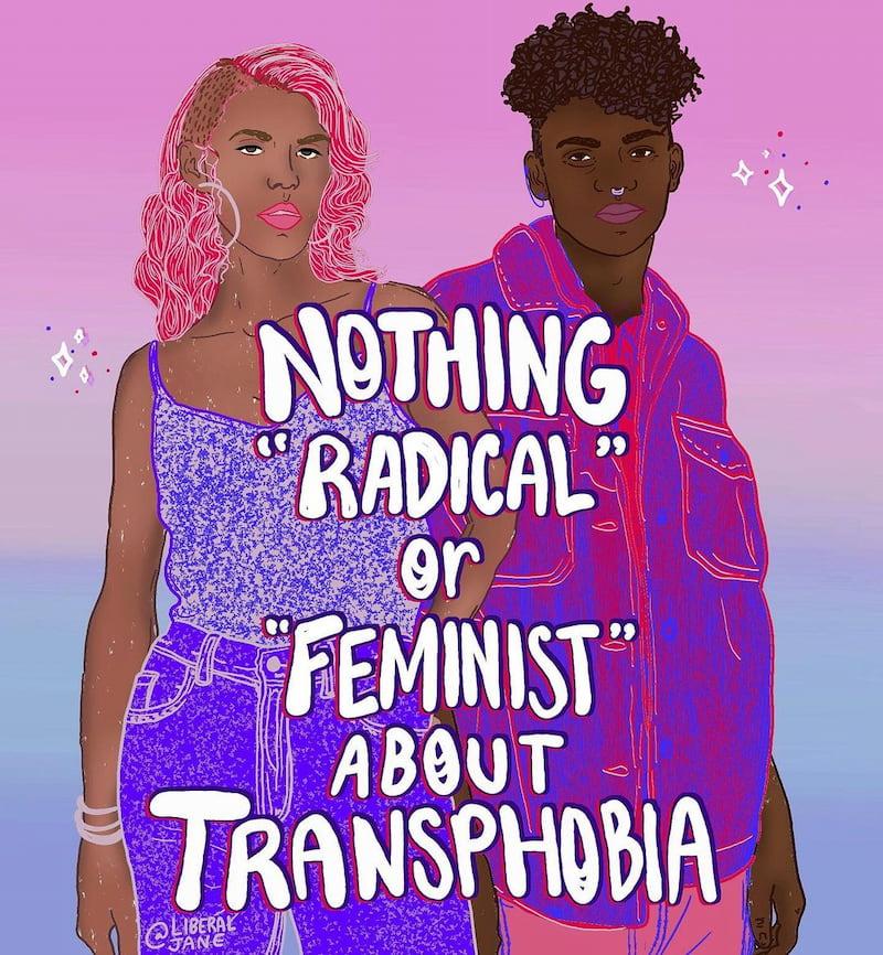 liberal jane transphobia