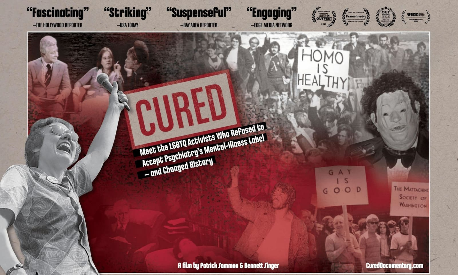 'CURED': When LGBTQIA+ Activists Fight For Their Rights