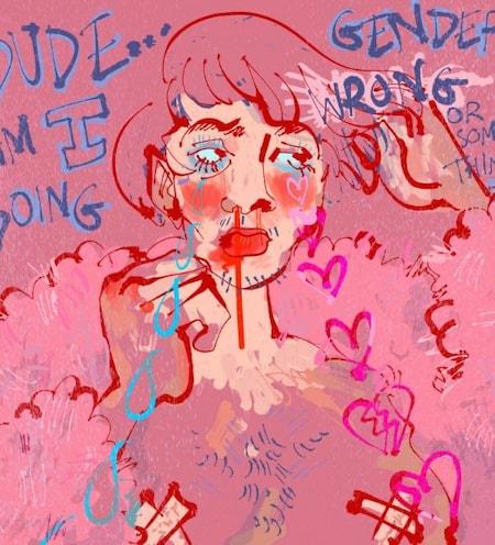 kamal artist queer illustration