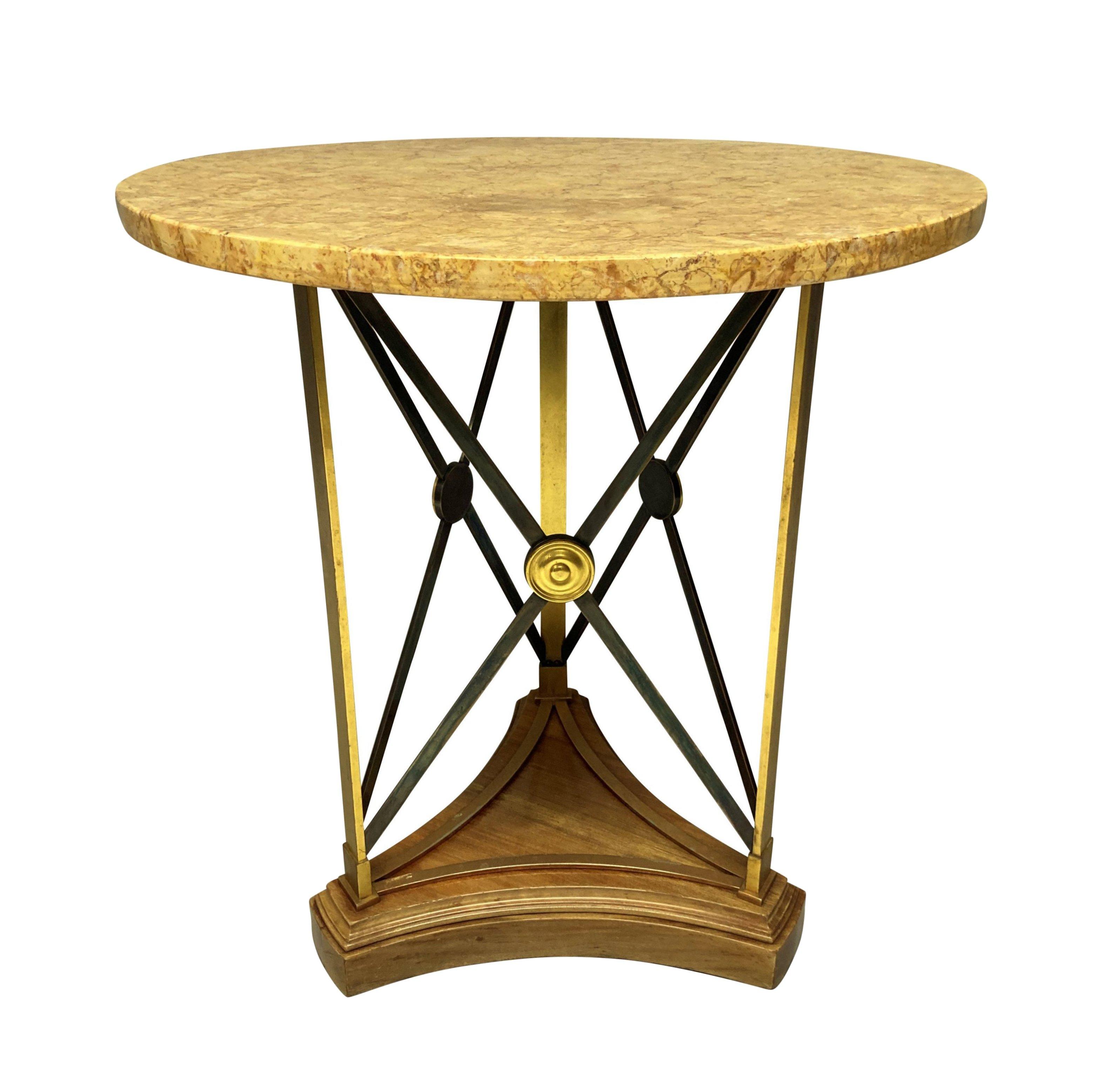 A MID-CENTURY GUERIDON TABLE
