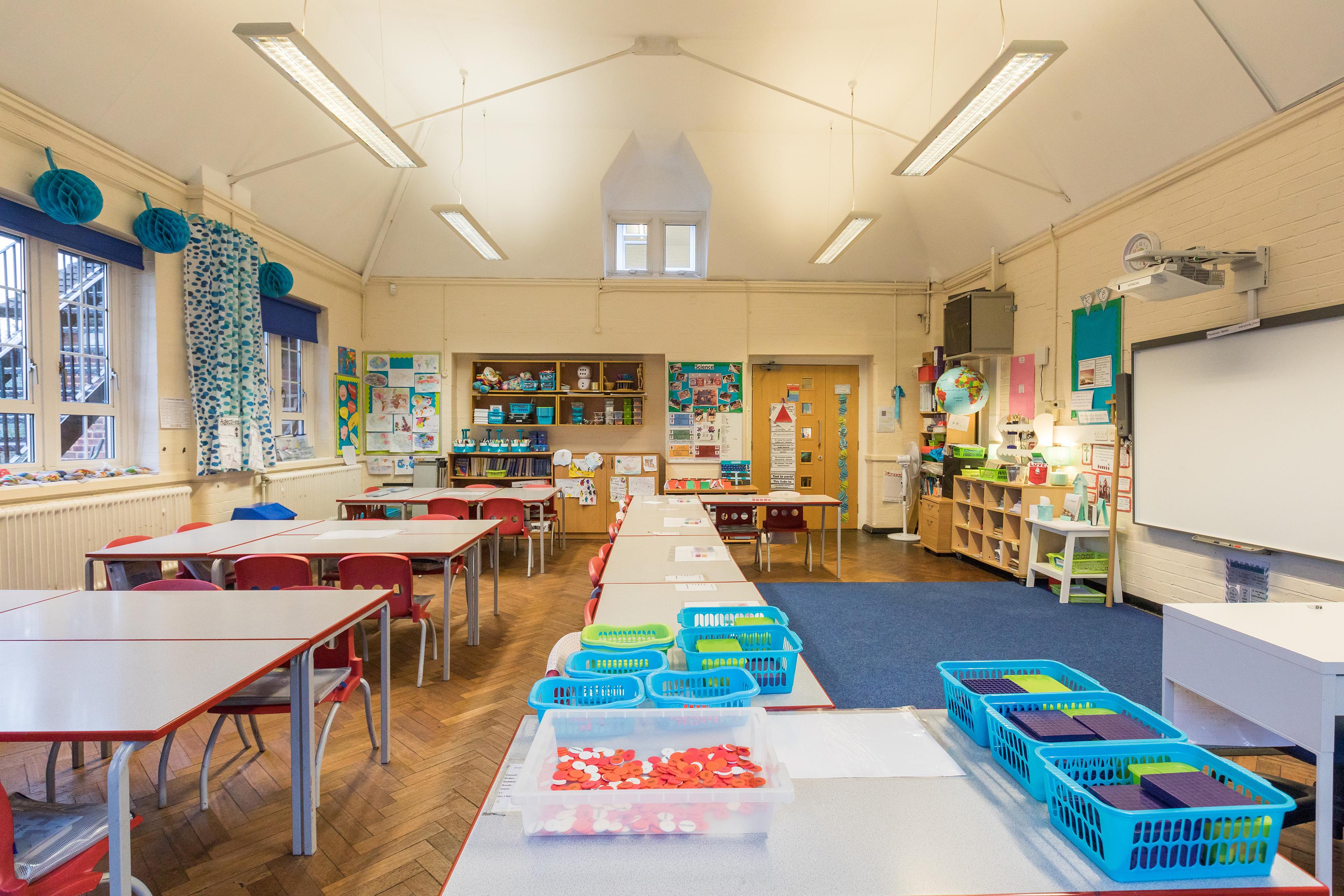 All Saints Classroom