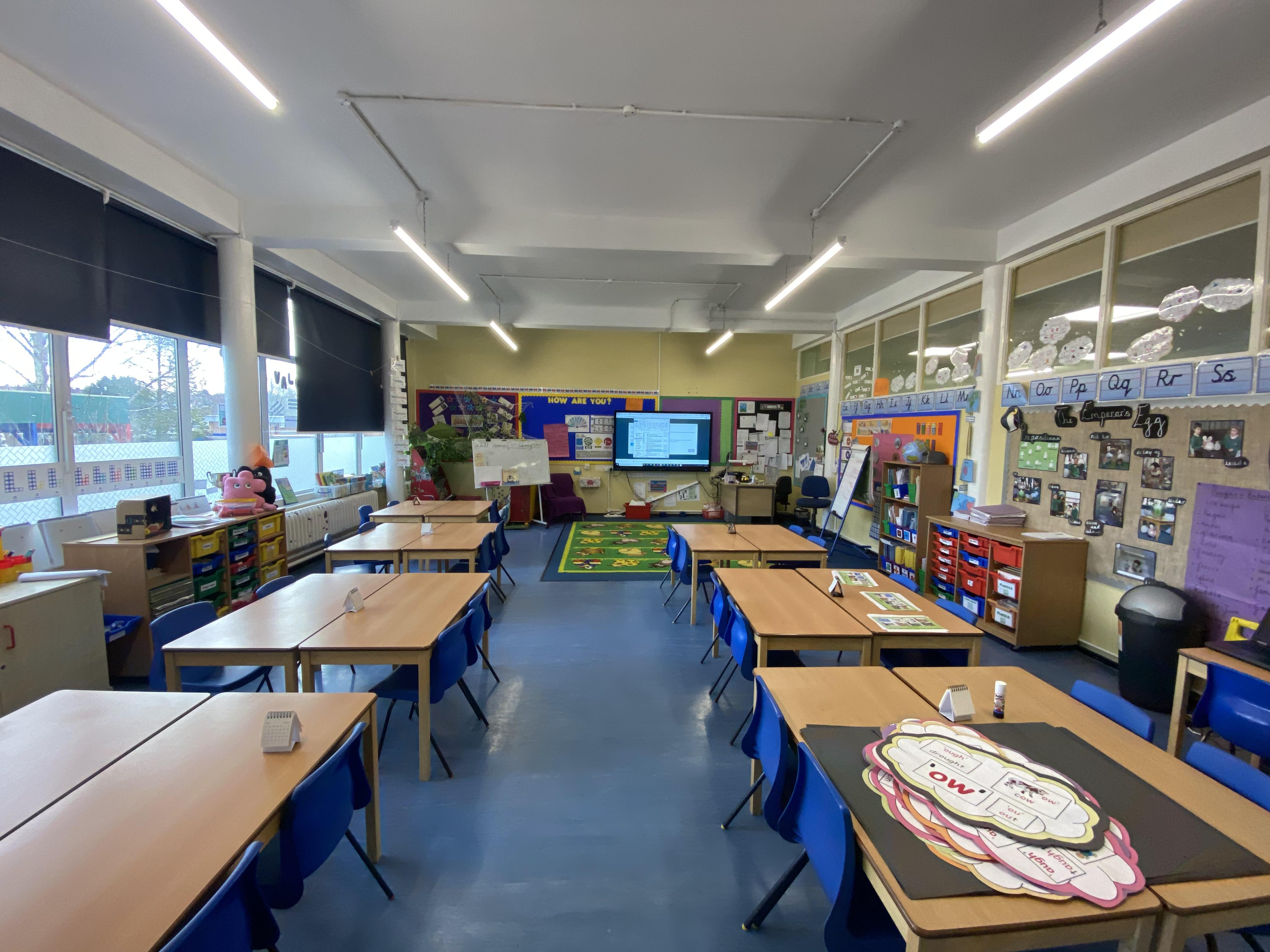 Coppetts Wood Classroom