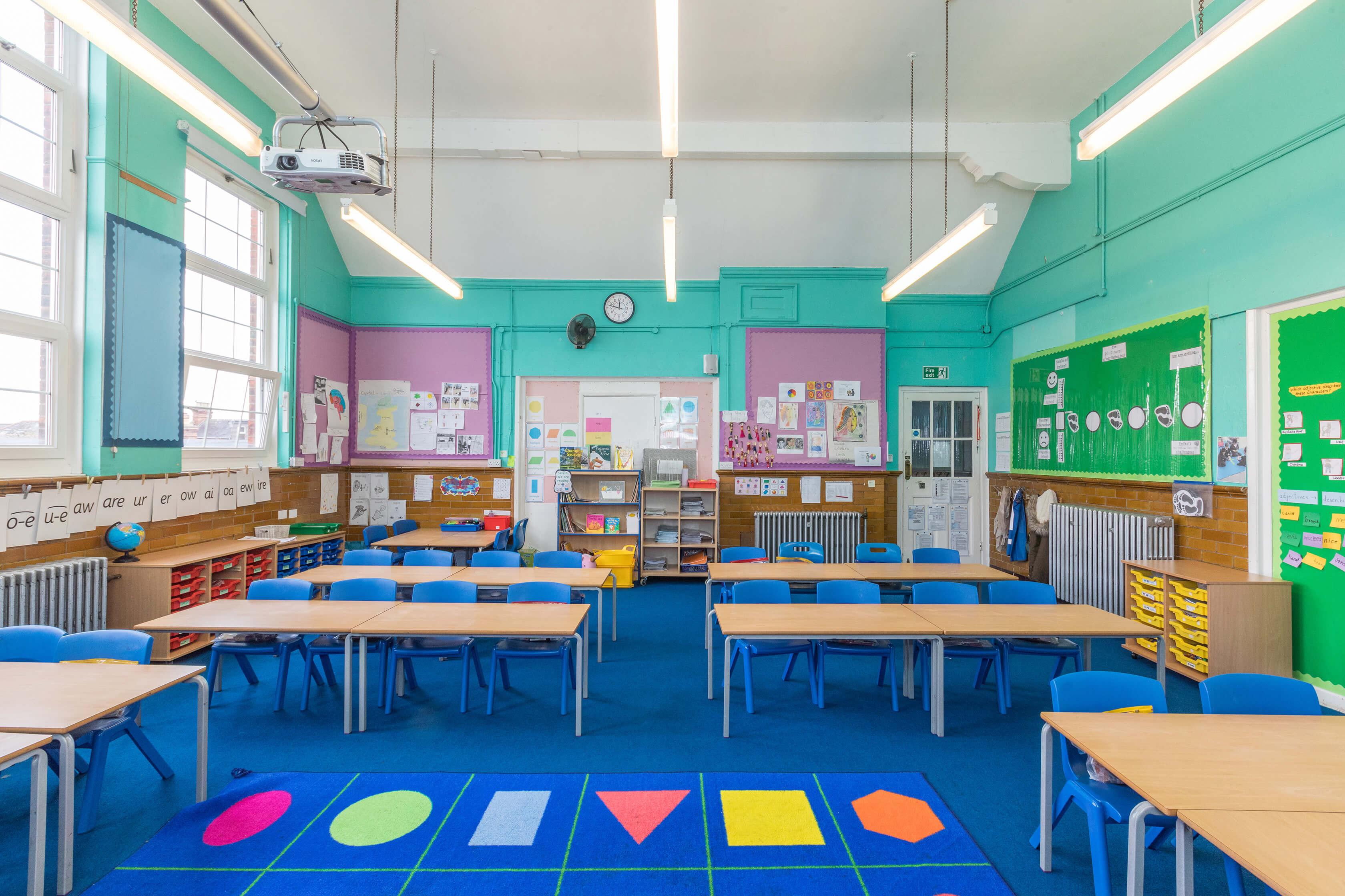 Bell Lane Classroom