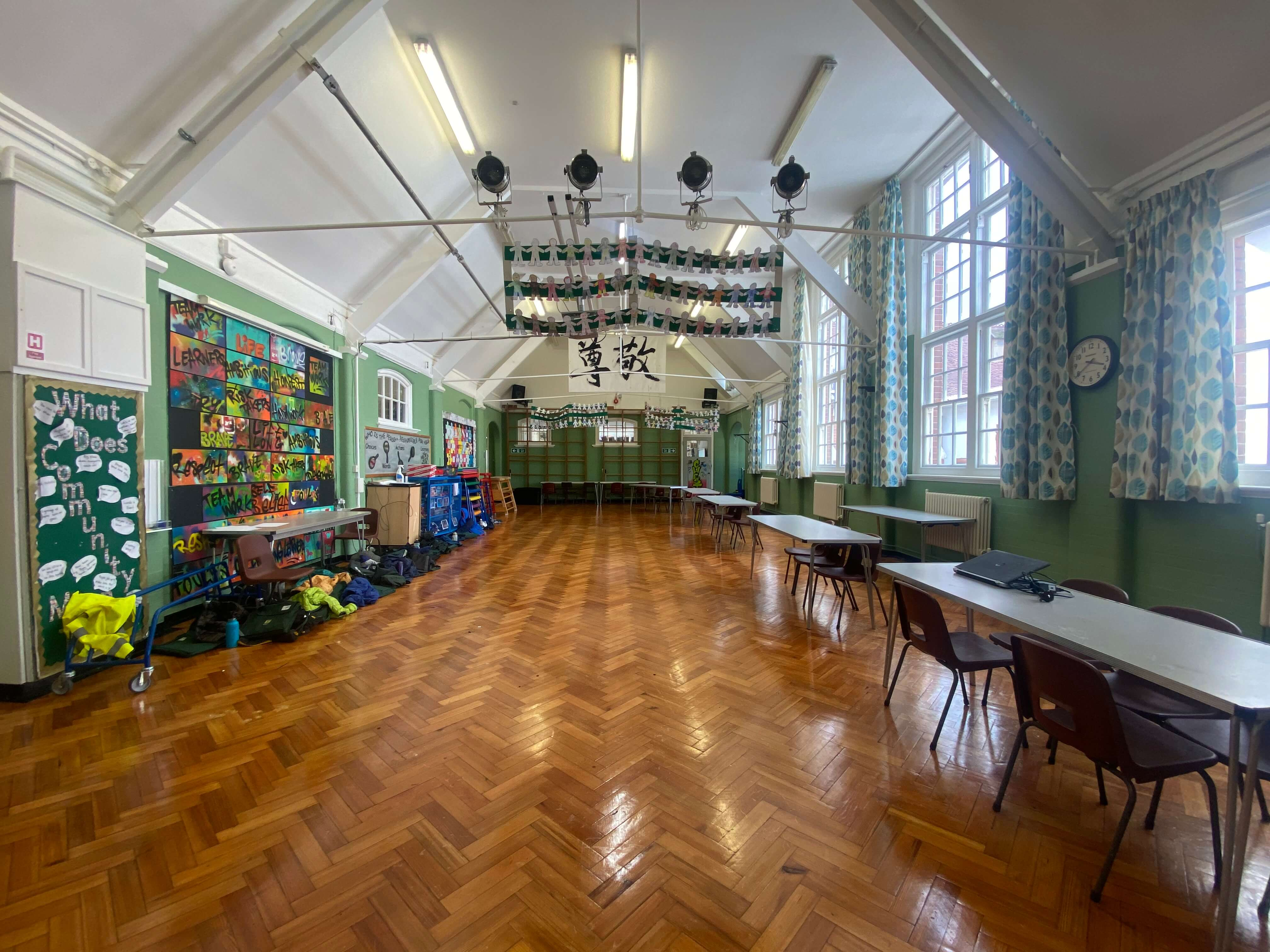 Foulds School Main Hall