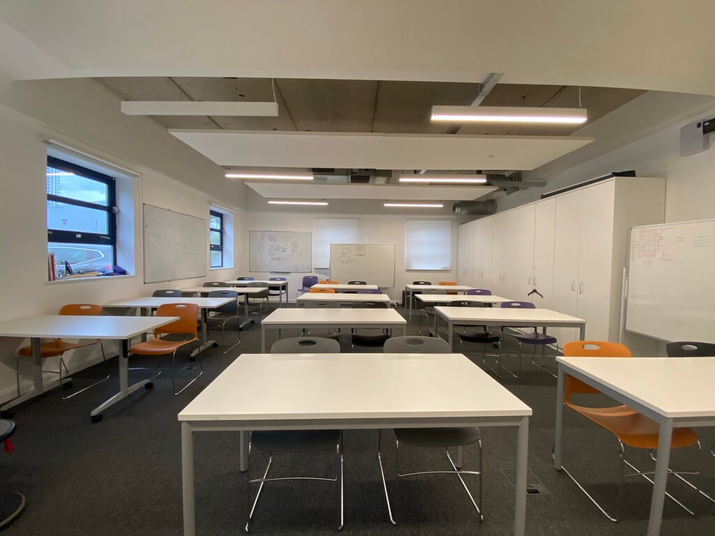 Ada. National College Endeavour Classroom