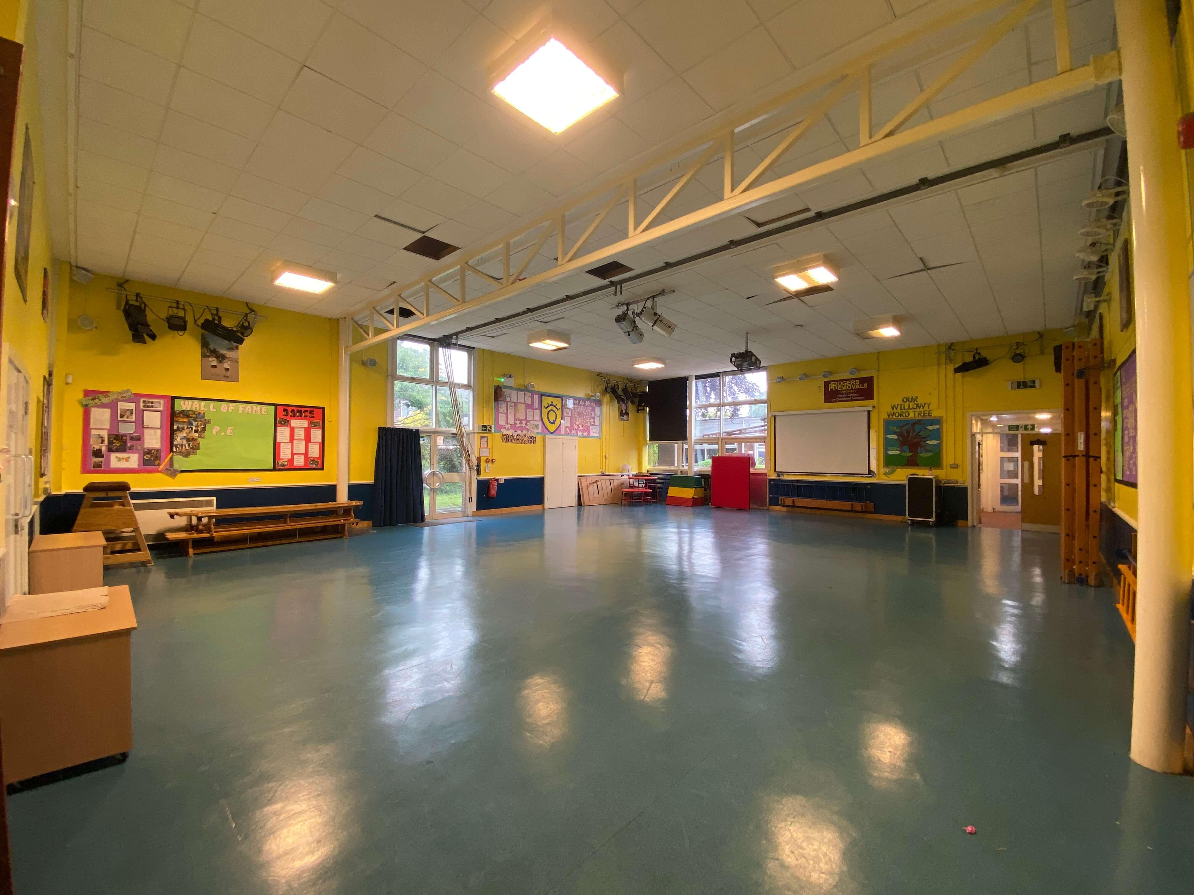 Queenswell Junior School Main Hall