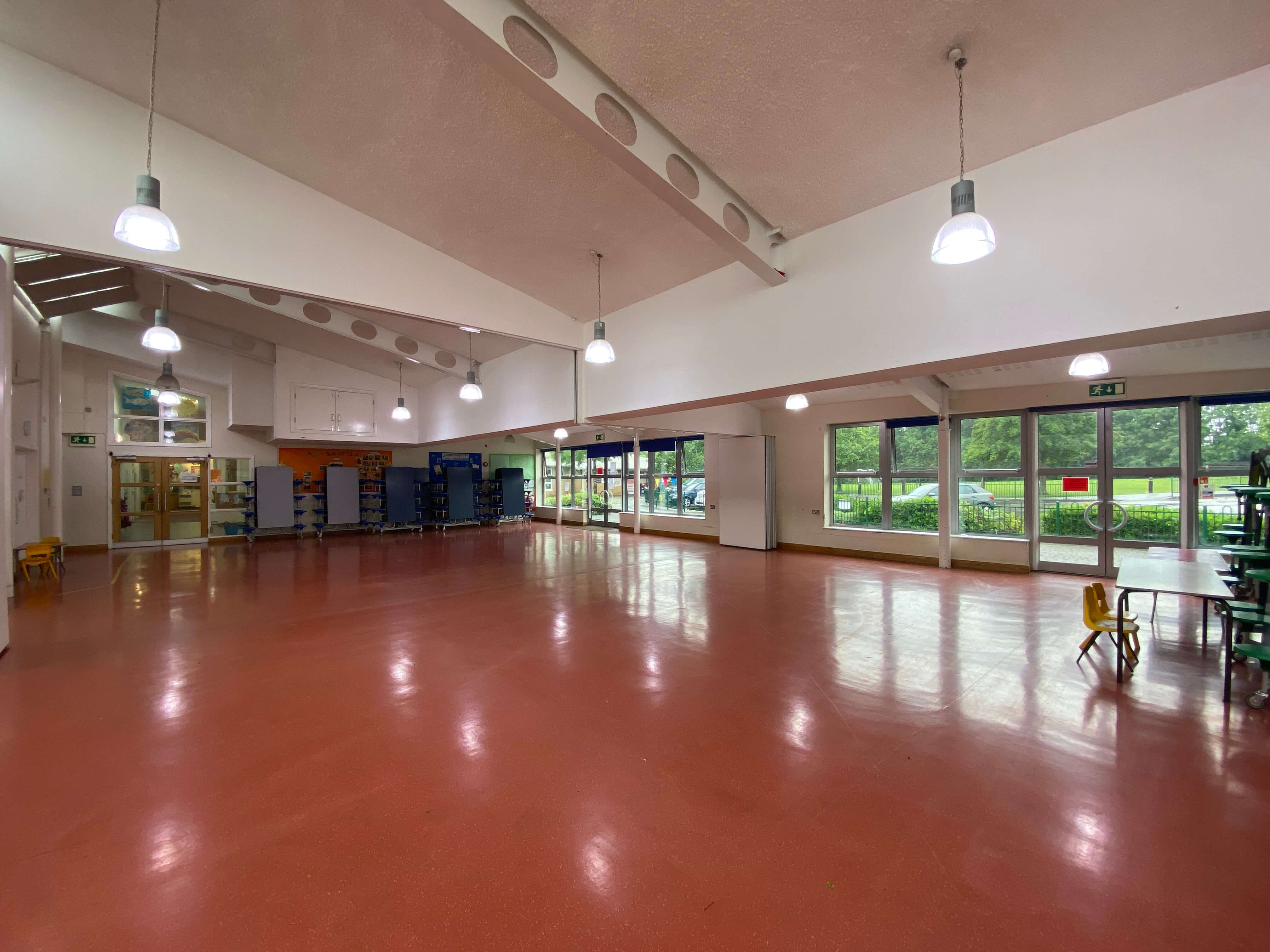 Queenswell Infant & Nursery School Dining Hall