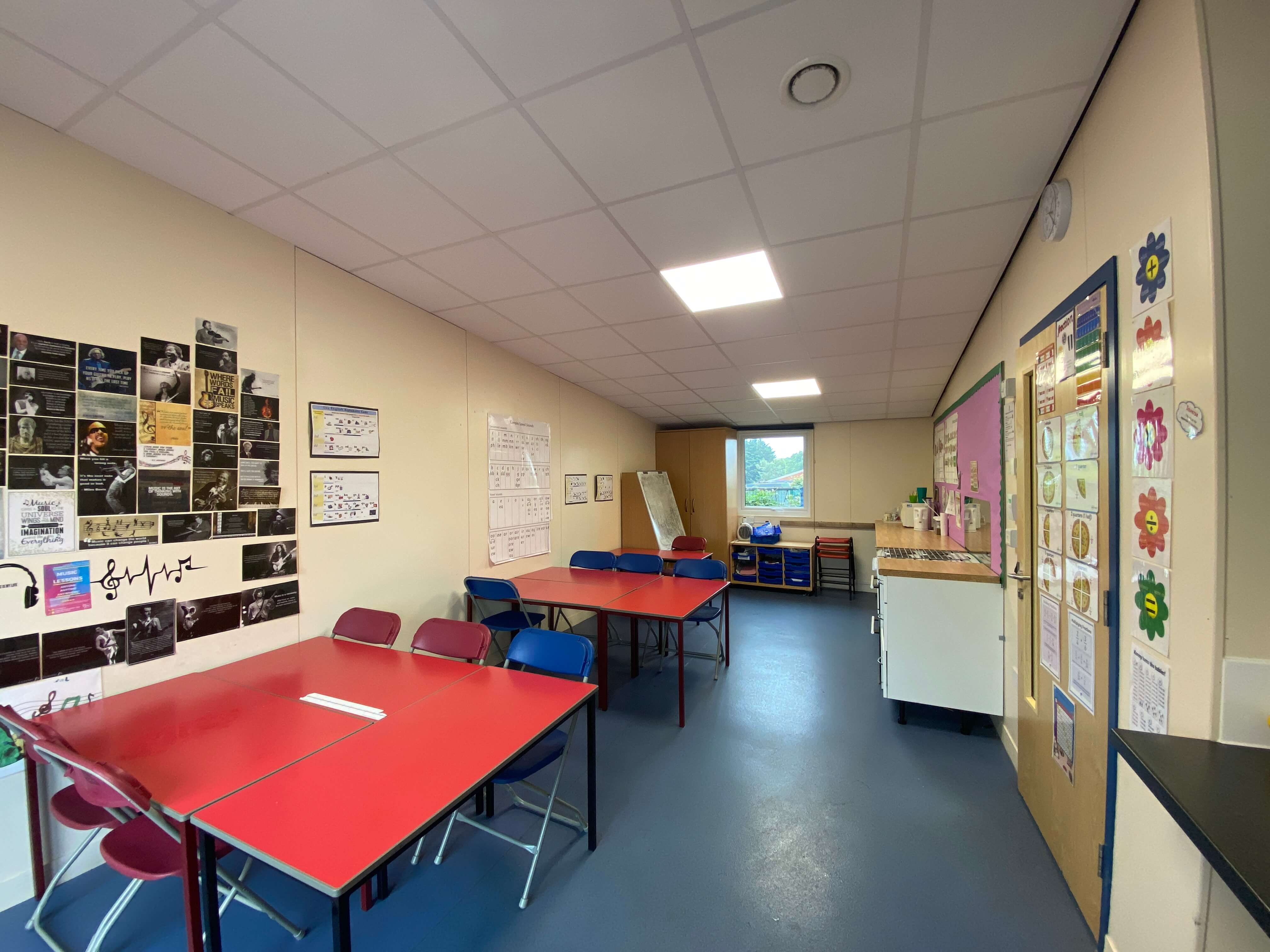 Queenswell Junior School Self Contained Classroom