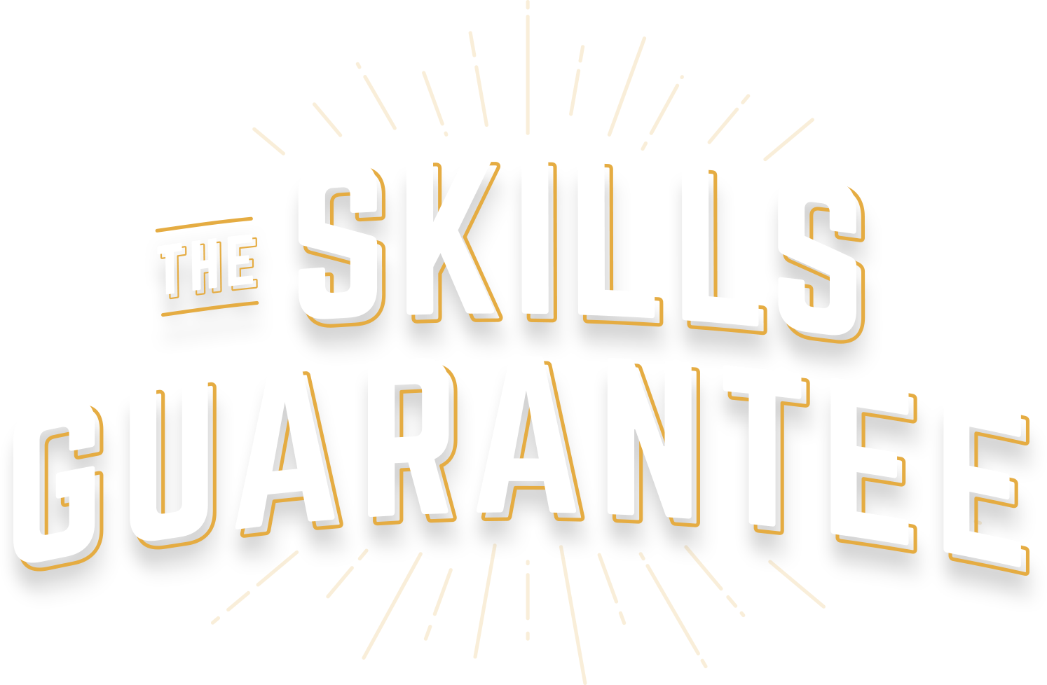 The Skills Guarantee - Because We Believe in You