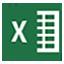 Icon - Microsoft Excel Application
