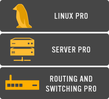 Icon - System Admin Path - Linux Pro, Server Pro, and Routing and Switching Pro Courses