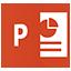 Icon - Microsoft PowerPoint Application
