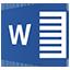 Icon - Microsoft Word Application