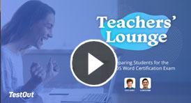 Video Thumbnail - Teacher's Lounge